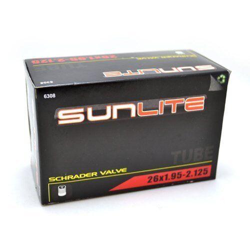 SUNLITE INNER TUBE SCHRADER VALVE 26X1.95-2.125 32mm TUBE TIRE BIKE BICYCLE NEW