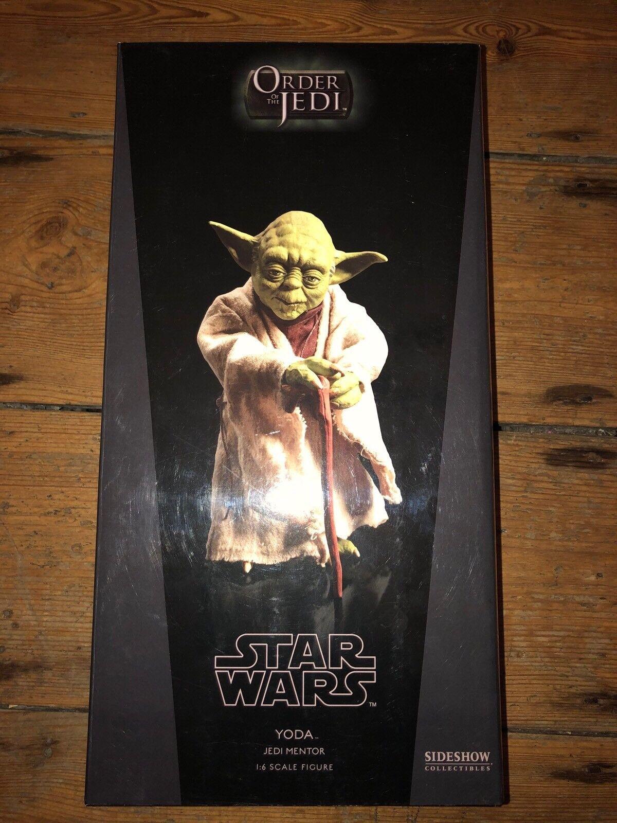 Sideshow Star Wars 0rder Of The Jedi Yoda Jedi Mentor  AFSSC517