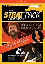 THE/CLAPTON,ERIC/BECK,JEFF STRAT PACK - GUITAR HEROES-SPECIAL EDITION 3 DVD NEU