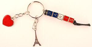 porte-clé porte-clef souvenir de France Paris coeur Tour Eiffel métal Cadeaux - France - État : Neuf: Objet neuf et intact, n'ayant jamais servi, non ouvert. Consulter l'annonce du vendeur pour avoir plus de détails. ... Type: Miniature, Objet - France