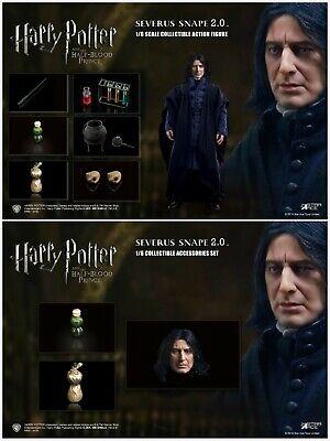1//6 STAR ACE TOYS SA0081C Severus Snape 2.0 Head Sculpt/&Accessories Set Model