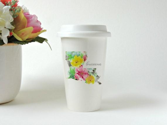 Sublimation Latte Travel Travel Travel Mug + Lid 11oz Tumbler Coffee Mug Heat press transfer 700aeb