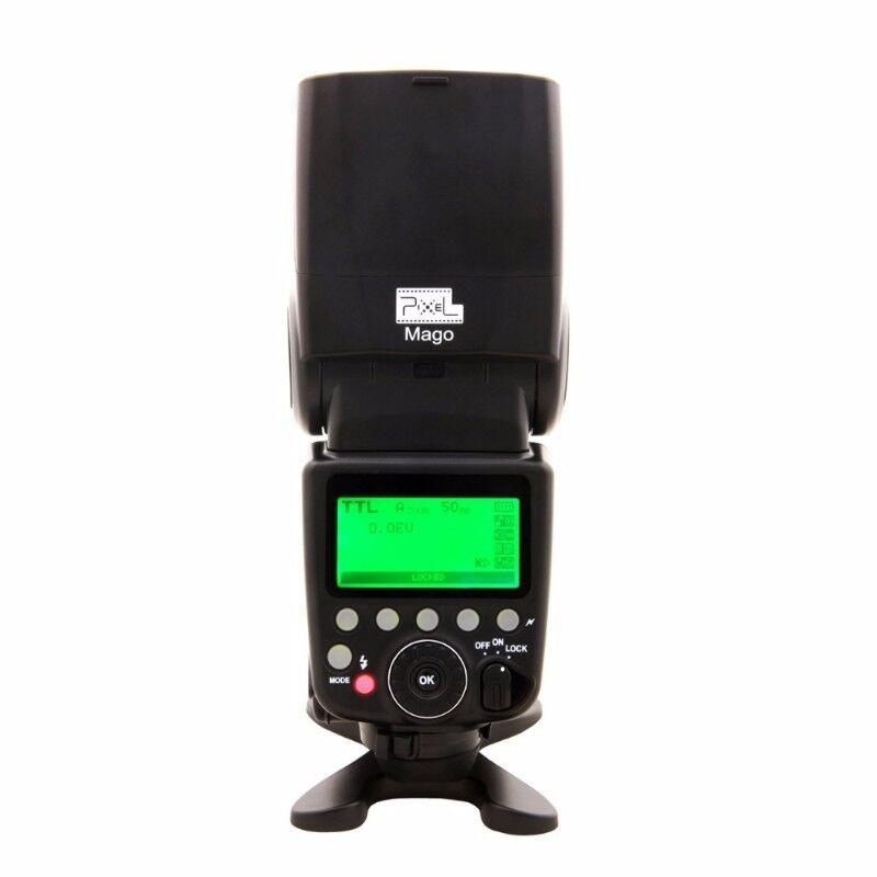 Canon E-TTL speedlite Pixel Mago, GN 65, HSS. Brand new.