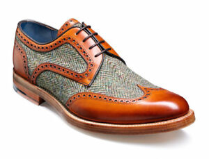 a4fb3612f99b9 Details about Handmade Two Tone Leather Suede Shoes Wingtip Oxford Dress  Formal Shoes