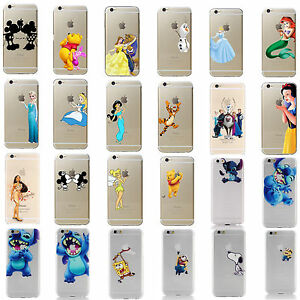 custodia iphone 7 disney principesse