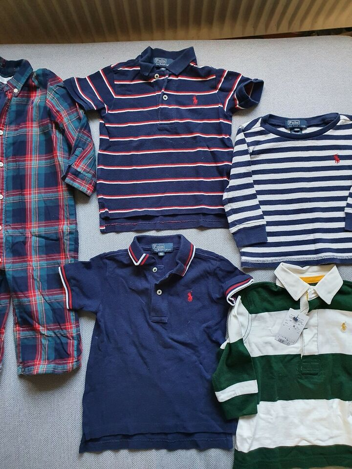 Blandet tøj, Tøjpakke str 80, Ralph Lauren