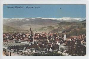 AK Munster, Münster i. E., 1917 - Karnabrunn, Österreich - AK Munster, Münster i. E., 1917 - Karnabrunn, Österreich