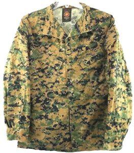 USMC-Woodland-Marpat-Woodland-MCCUU-Shirt-Jacket-Insect-Repellent-Med-LNG-Men-039-s