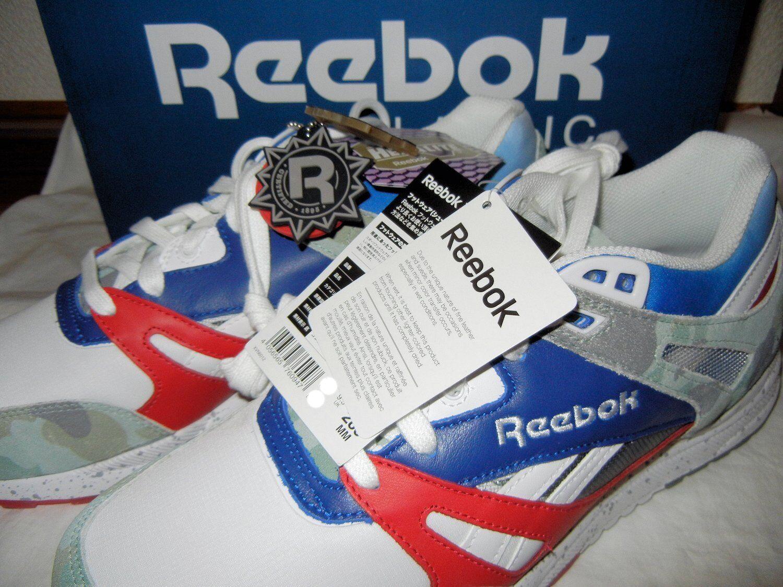 A A A Bathing Ape x Mita scarpe da ginnastica Reebok Ventilator BAPE Camo Dimensione 9.5 JAPAN Tag 9b04c4