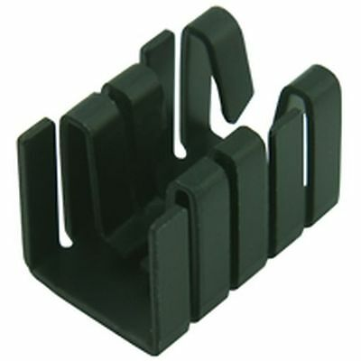 TO220 Clip-on Anodised Heatsink (Pack of 2)