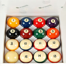 Genuine Belgian Aramith Crown Standard Pool/Billiard Ball Set Phenolic Resin CSB