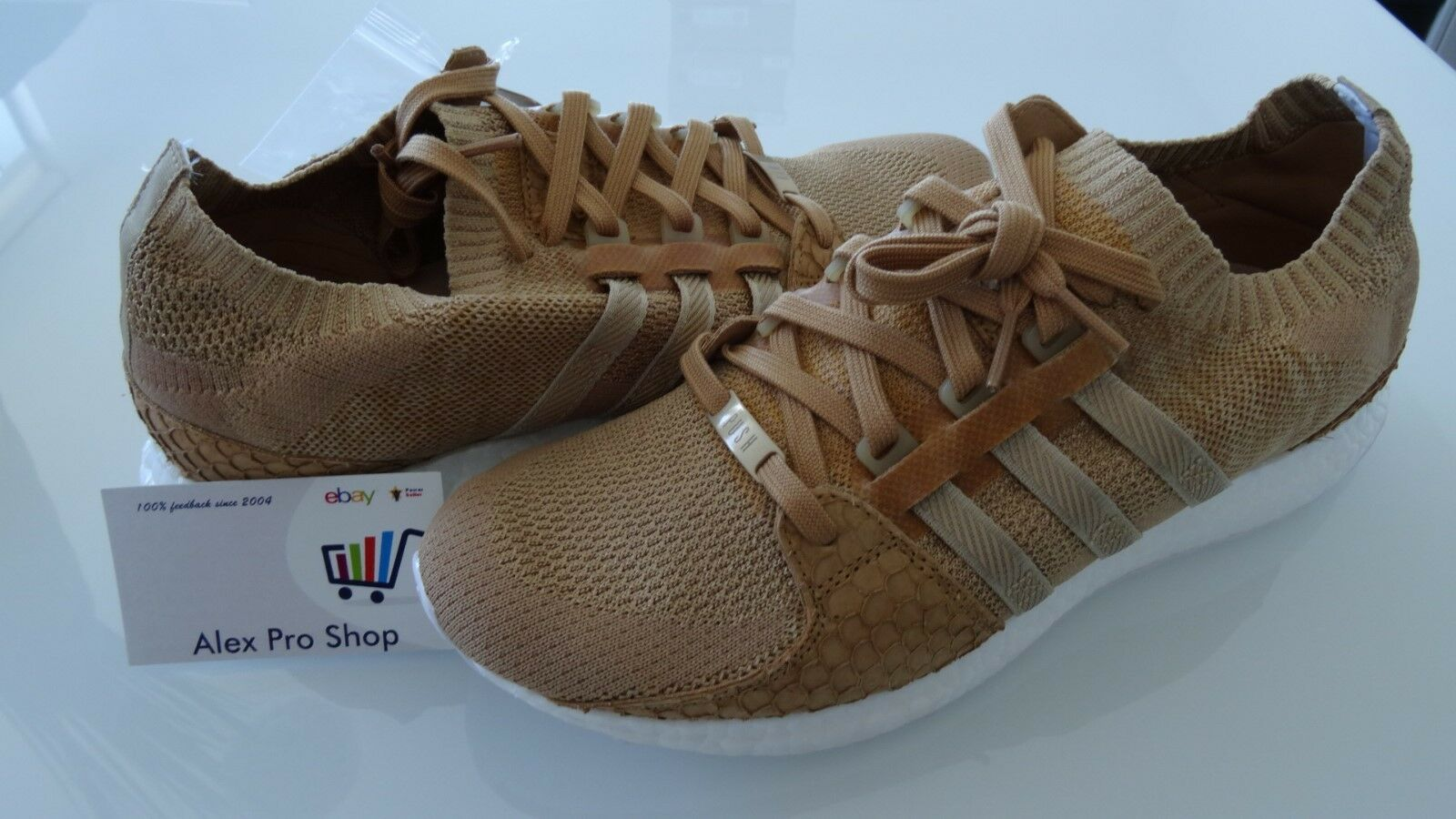 New Men's Size 6 ADIDAS EQT SUPPORT ULTRA PK KING PUSH BROWN PAPER BAG DB0181