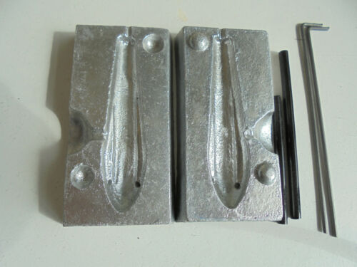 Weight mould 6oz grip lead mould makes super grip out weights.