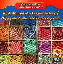 What Happens at a Crayon Factory?/Que Pasa En Una Fabrica de Crayones? Where Pe