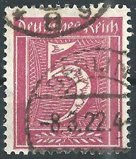 Ziffer im Rechteck MiNr. 158 Infla Berlin geprüft und gestempelt in BERLIN
