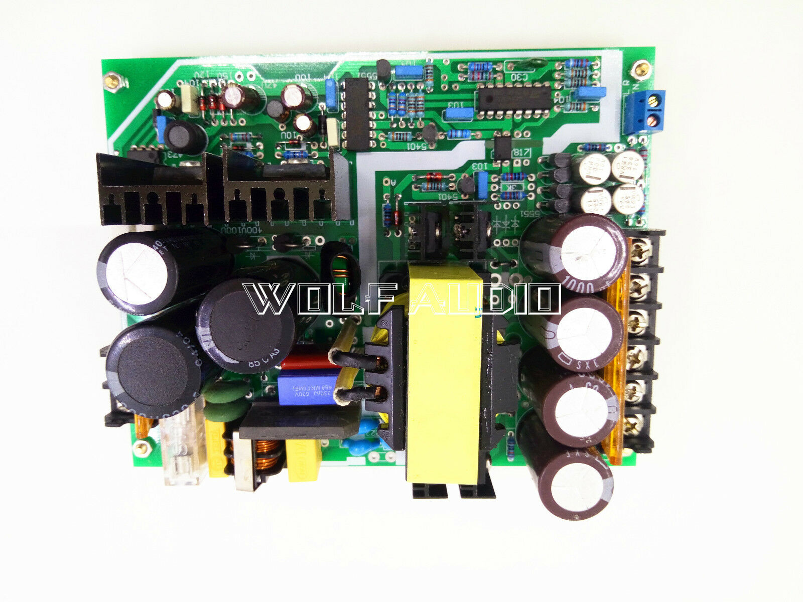 Assembled Class D 600w High Power Amplifier Switching Supply Circuit Board Smps Tablet Only