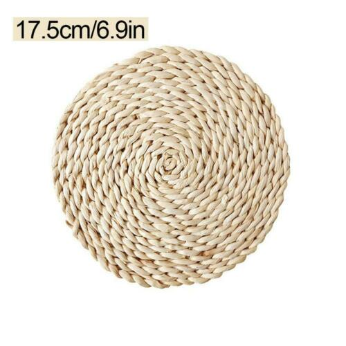 Natural Corn Fur Woven Pad Thickened Insulation Tea Mat Table Mat Heat-Resistant