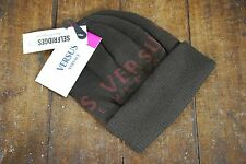 VERSUS VERSACE BROWN BEANIE HAT NEW WITH TAGS RRP £50 UNISEX BEANY