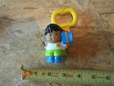 Fisher Price Little People Diaper bag clip boy Latino present gift Party xmas