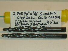 Guhring Carbide Step Drill 14 Dia X 12 X 38 Dia X 2 34 38 Tang Shk 5