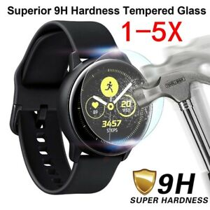 5X-For-Samsung-Galaxy-Watch-ACTIVE-2-Tempered-Glass-Screen-Protector-40MM-44MM