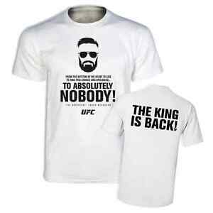 64a29d7366b7 Image is loading Notorious-Conor-McGregor-Funny-Slogan-Tshirt