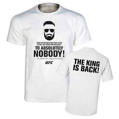 Notorious Conor McGregor T Shirt UFC Slogan