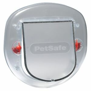 NEW-PETSAFE-STAYWELL-270-SLIM-PROFILE-BIG-CAT-SMALL-DOG-DOOR-FLAP-4-WAY-LOCKING