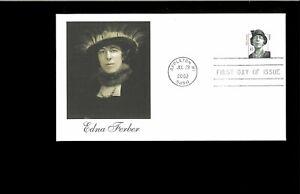 2002-First-day-Cover-Edna-Ferber-Appleton-WI