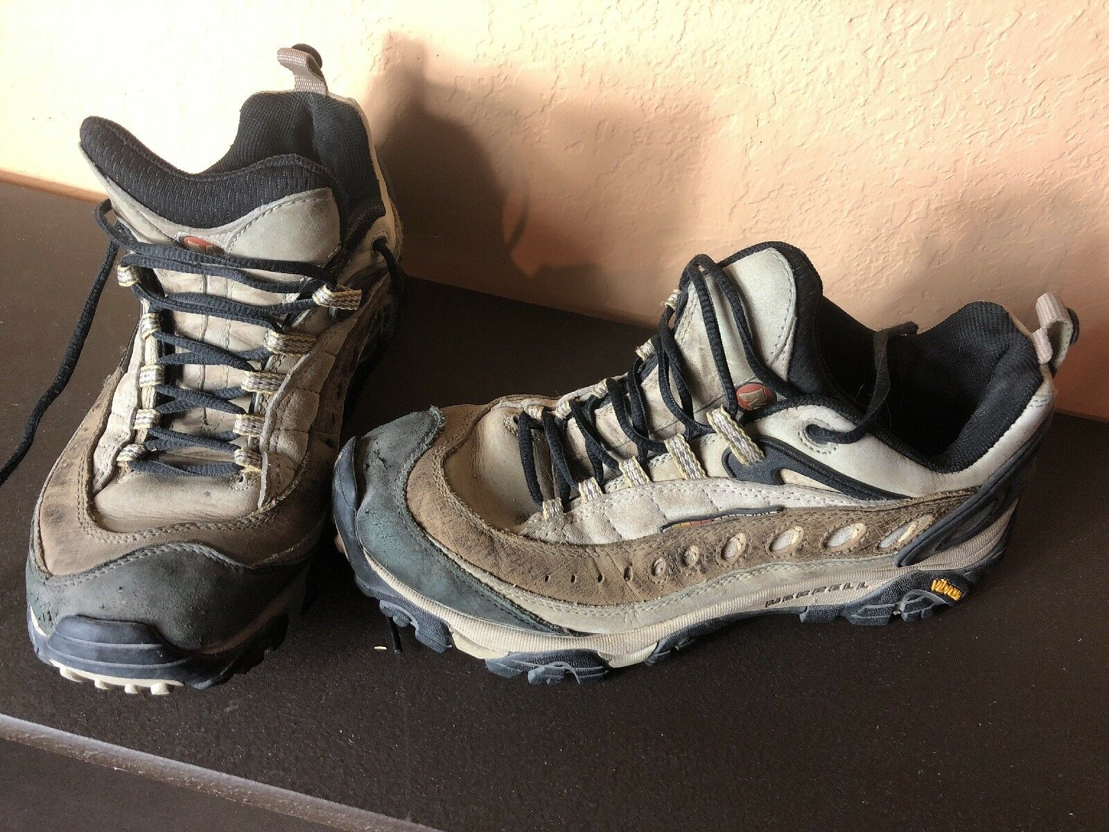 Merrell Continuum Pulse II Wintergreen Women's Hiking Shoes Size 10