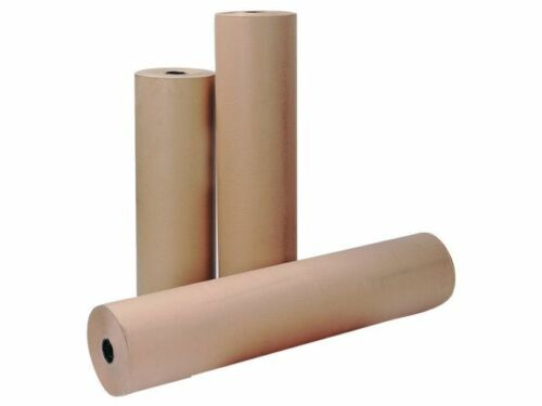 Pure Kraft Rouleaux de papier 500 mm x 25 50 100 250 275 Mètres 75 GSM