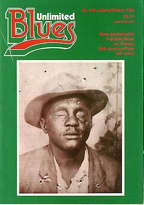 BLUES UNLIMITED No 146  Lou Thimes Blind Joe Reynolds Harold Battiste 1984