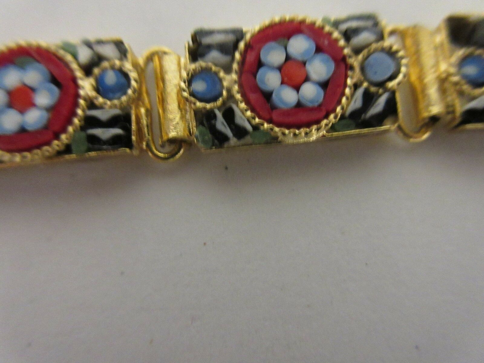 Costume Jewelry ,Vintage , Bracelet , Earrings , Red ,