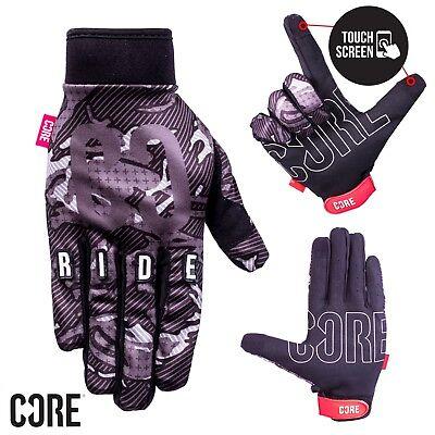 Gehorsam Core Touch Screen Gloves Cycling/bmx/bike/mtb/motocross - Black Camo Krankheiten Zu Verhindern Und Zu Heilen