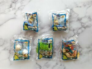 Vintage-1998-Burger-King-Nickelodeon-Rugrats-Toys-Set-of-5-READ-DESCRIPTION