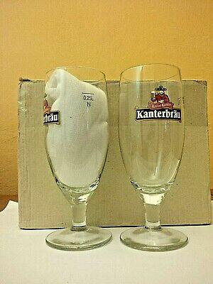 6 verres Kanterbrau à pied