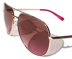 96bc1c1806 Michael Kors Hvar Rose Gold Aviator Sunglasses - Mk5007