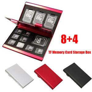 Aluminum Micro SD MMC TF Memory Card Storage Box Protecter Case