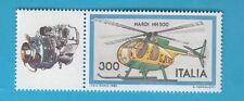 ITALIA 1982 AEREI AIRPLANES HELICOPTER  ELICOTTERO NARDI NH 500 L. 300 MNH**