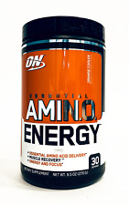 Optimum AMINO ENERGY Beta Alanine Amino Acid PROTEIN  - 30 Servings PICK FLAVOR