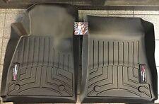 WeatherTech DigitalFit FloorLiner 2012-14 - Tesla Model S - Black - Front