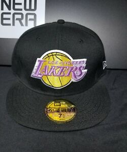 fffe738c24c Los Angeles Lakers New Era 59Fifty Fitted NBA Hat Cap Size 7-1 4