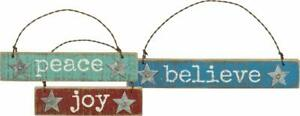 Primitives-By-Kathy-HOLIDAY-BEACH-Small-Signs-Ornament-Christmas-Joy-Believe