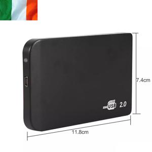 "Slim HDD Enclosure SATA To USB Hard Drive Adapter 2.5"" Case Laptop External"