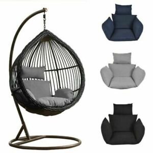 Hot Foldable Wicker Swing Egg Chair Hanging Chair Cushion Outdoor Without Chair Ebay