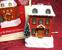 HALLMARK 2003 WINDUP MUSICAL~I'LL BE HOME FOR CHRISTMAS~SPECIAL LIGHTING EFFECT