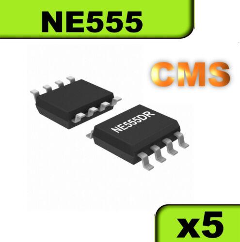 1512//5# Timer NE555 version CMS lot de 5pcs