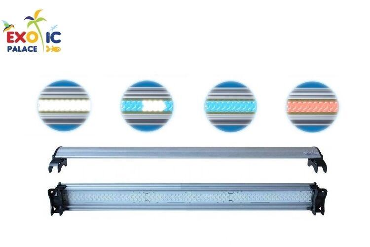 alta qualità e spedizione veloce PLAFONIERA LAMPADE LUCE A LED LFLC ULTRASLIM ULTRASLIM ULTRASLIM PER ACQUARIO DOLCE MARINO CORALLI W  più preferenziale