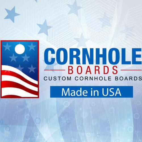 Wraps Corn Hole Blue Line Punisher Cornhole Board Prints
