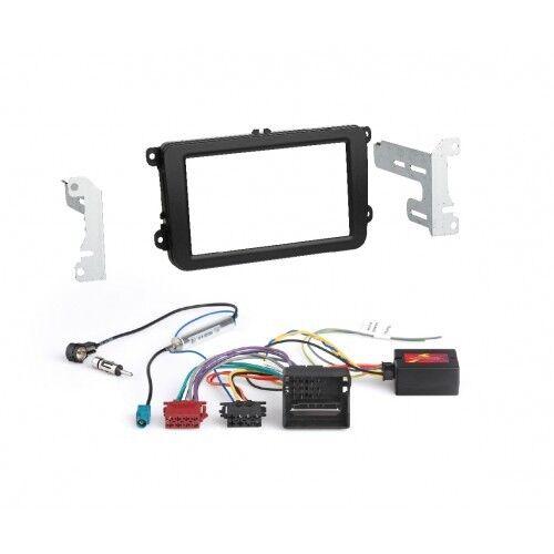 RTA 600.010050 paquete Pro para vw, skoda, seat doble DIN radio diafragma + bus CAN